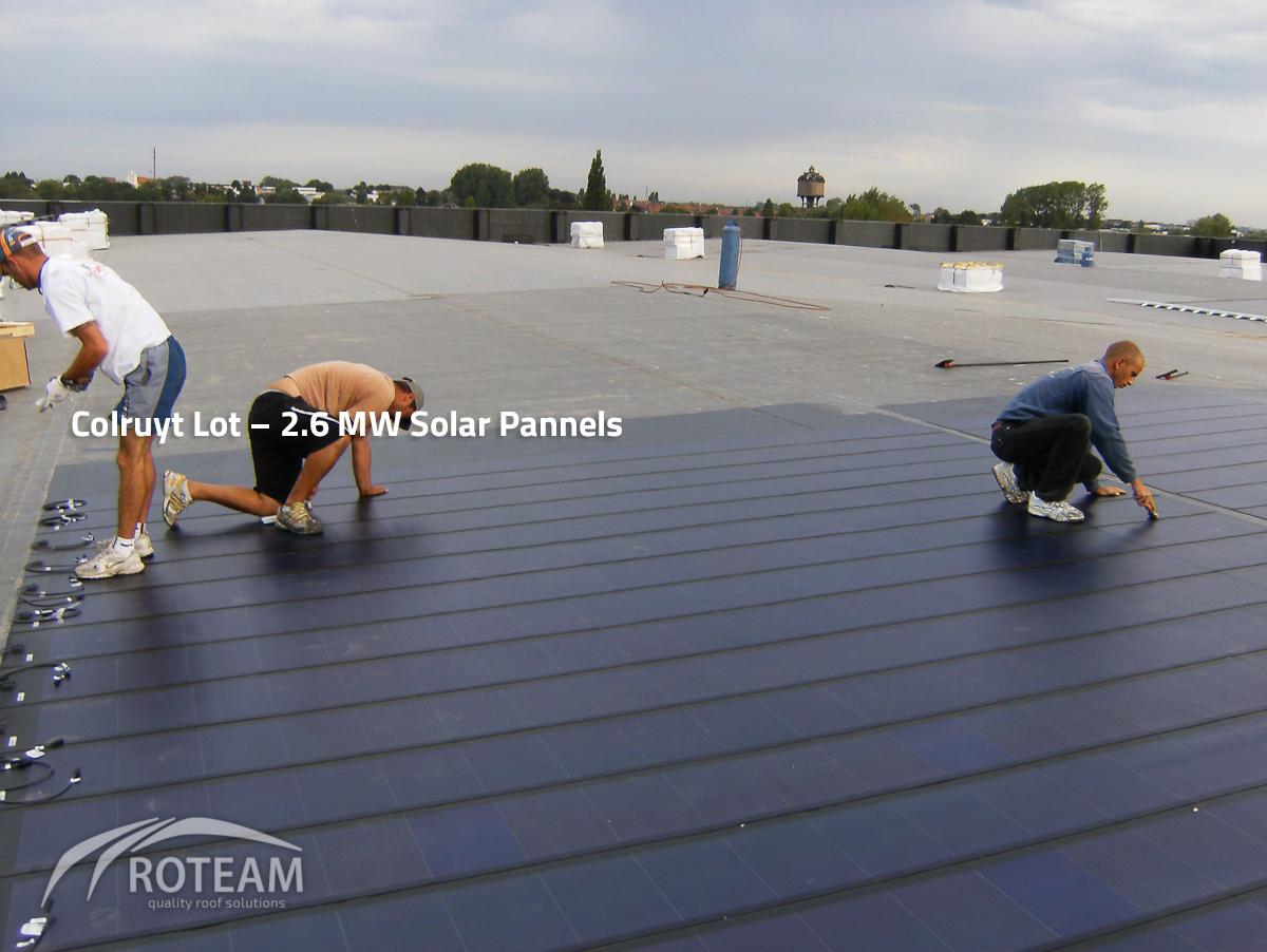 Colruyt Lot – Solar Pannels –  In samenwerking met Tectum