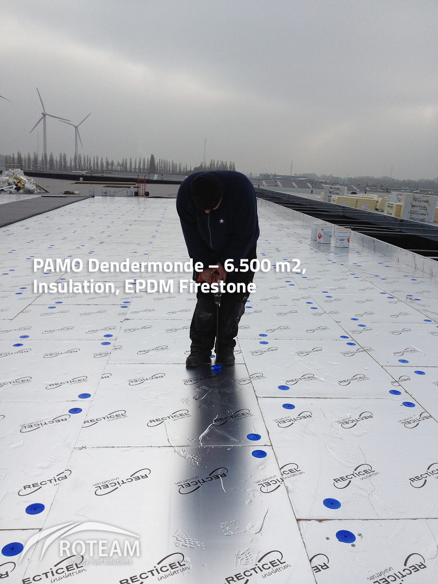 PAMO Dendermonde – Insulation