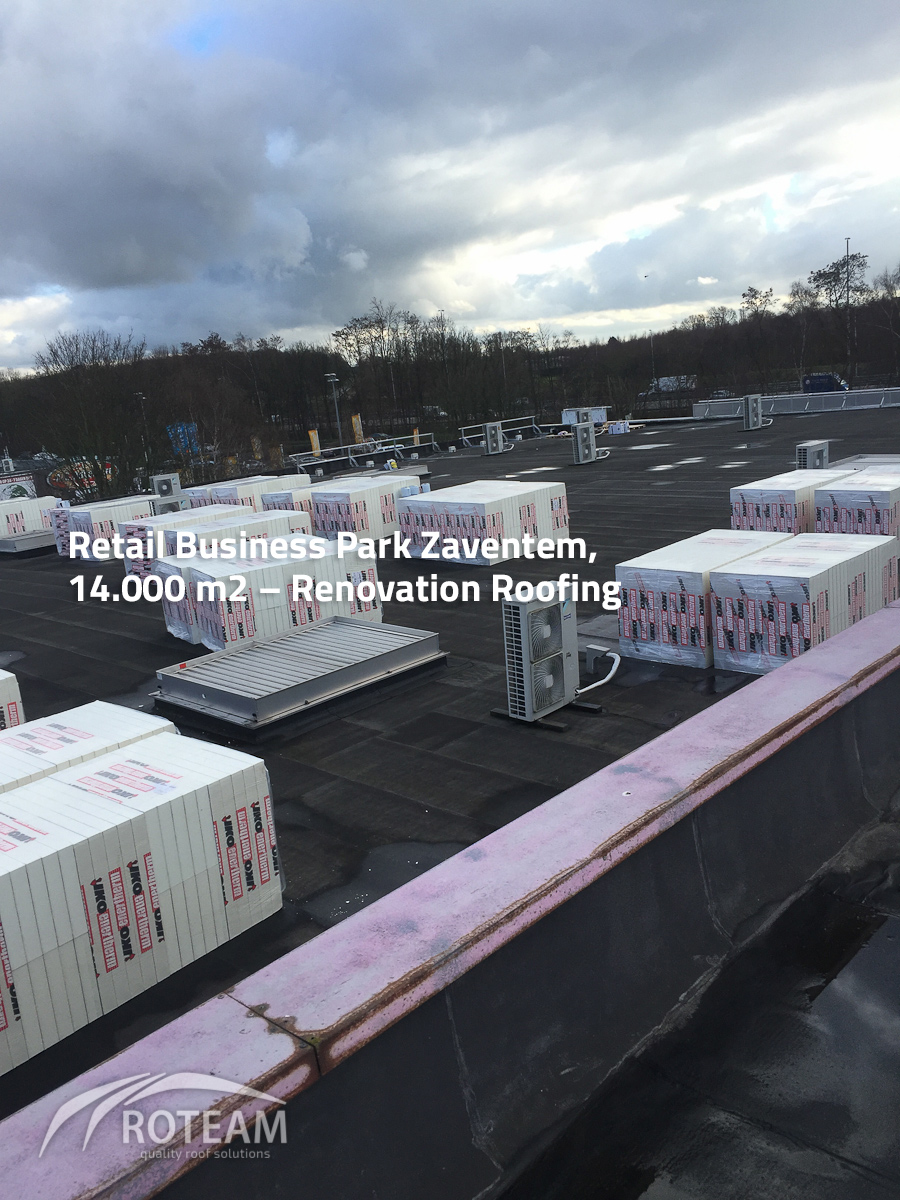 Retail Business Park Zaventem Roofing