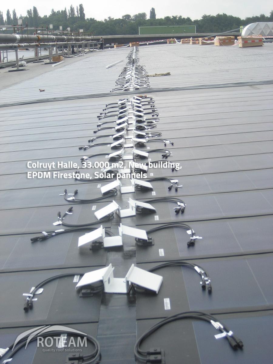 Colruyt Halle – solar pannels