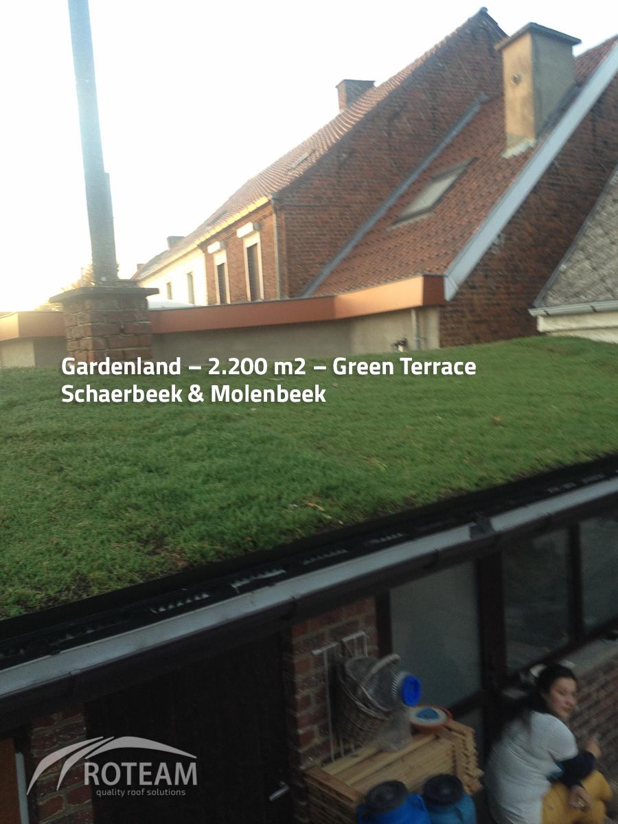 Gardenland – Green roof