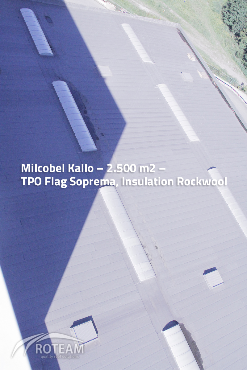 Milcobel Kallo – Insulation