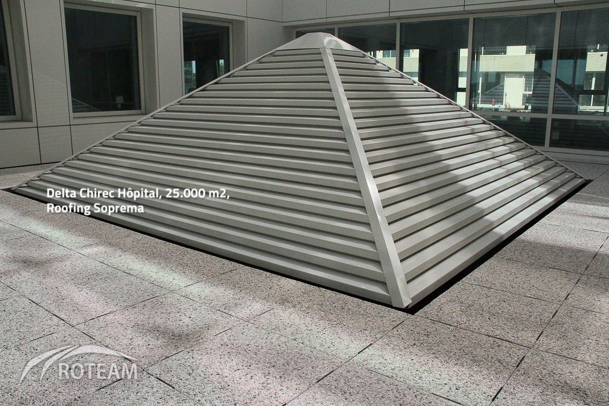 Delta Chirec – Roofing – In partnership with Tectum